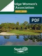 SRWGA Booklet 2017-2018