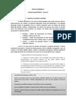 DIREITO AMBIENTAL - legislação básica - aula 01