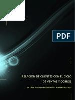 Relación de Clientes Con El Ciclo de Ventas y Cobro Original