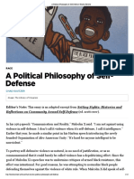 A Political Philosophy of Self-Defense