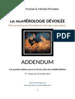 Addendum La Numerologie Devoilee