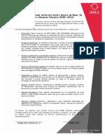Funciones Del Prestador de Servicio Social_Becario DOBE UNICA