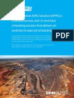 XPAC Open Pit Metals
