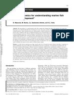 2011 - mazurais - Transcriptomics for understanding marine fish larval development.pdf