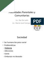 Habilidades Parentales y Comunitarias