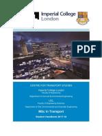 Transport Master's Handbook 2017 18