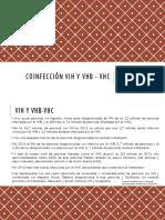 Coinfección VIH y Vhb - Vhc