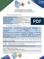Guía de Actividades y Rúbrica de Evaluación - Tarea 1 - Reconocer Las Temáticas Del Curso