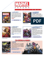Proximas Novedades Marvel - Abril 2018