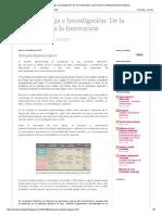 Epistemología e Investigación_ de La Creatividad a La Innovación_ Enfoques Epistemológicos