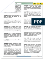 1ª Lista de Exercícios-físico-química(Lei Dos Gases )