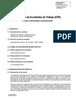 Informe Metodologico Estadarizado ATR