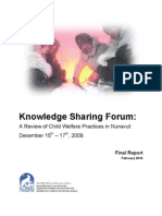 Nunavut Child Welfare Review