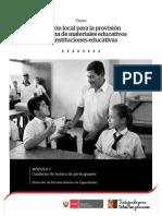 CURSO de MATERIALES - Modulo I Cuaderno Lectura Participante