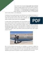 Uso Del Agua en La Mineria