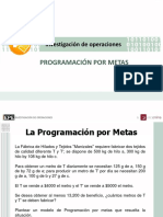 03 Programacion Por Metas Mas Ejercicios