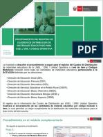 Diapositiva - SIGA - Cuadro de Distribución