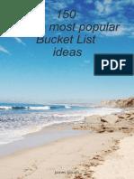 150 of the Most Popular Bucket List Ideas