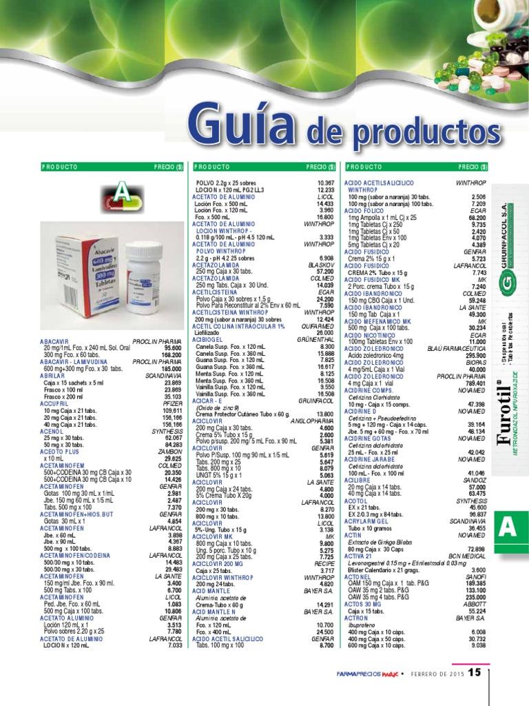 Plm Feb Medicamentos Drogas Farmacologia
