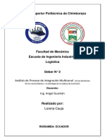 analisis logistica