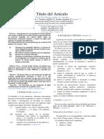 Estructura Artículo IEEE