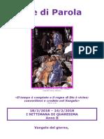 Sete di Parola - I settimana Quaresima - B.doc