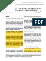Potencialidades y Limitaciones Del Derecho Internacion Bengoa