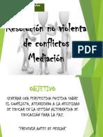 Mediación de Conflictos