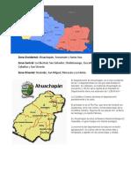 El Salvador y Sus Departamentos