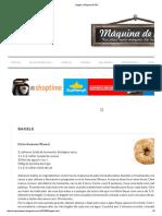Bagels _ Máquina de Pão