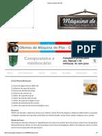 Calzone _ Máquina de Pão