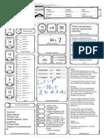 Jackal Character Sheet 2