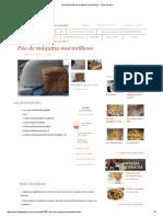 Receita de Pão de máquina maravilhoso - Tudo Gostoso.pdf