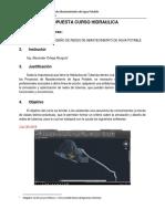 Propuesta Simulacion y Diseño de Redes de Abastecimiento MVS