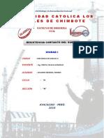 Monografia de Resistencia Al Corte Unidad I