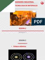 Sesión 2. Enlace Atómico