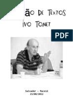 Ivo Tonet. Textos
