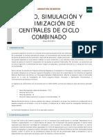 diseño y simulacion de centrales de ciclo combinado