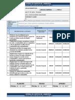 Programa de Sistema de Gestion Ambiental Ladrillera Un Diamante