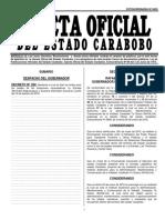 Nuevas Tarifas GACETANro 6629