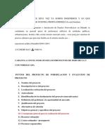Proyecto Formulacion