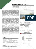 Combate de Monte Tumbledown - Wikipedia, La Enciclopedia Libre