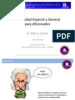 Relatividad Especial y General