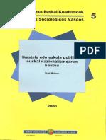 Ikastola Edo Eskola Publikoa, Euskal Nazionalismoaren Hautua