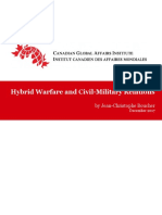 Hybrid Warfare and Civil-Military Relations