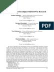 Polemological Paradigm of Hybrid War Research