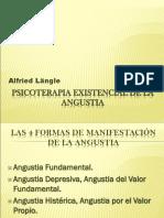 Psicoterapia Existencial de La Angustia
