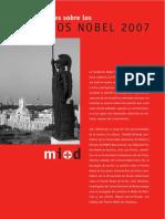 Premios Nobel 2007