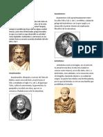 Biografia y Foto de 10 Filosofos Importantes