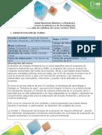 Syllabus Del Curso Evaluación de Impacto Ambiental